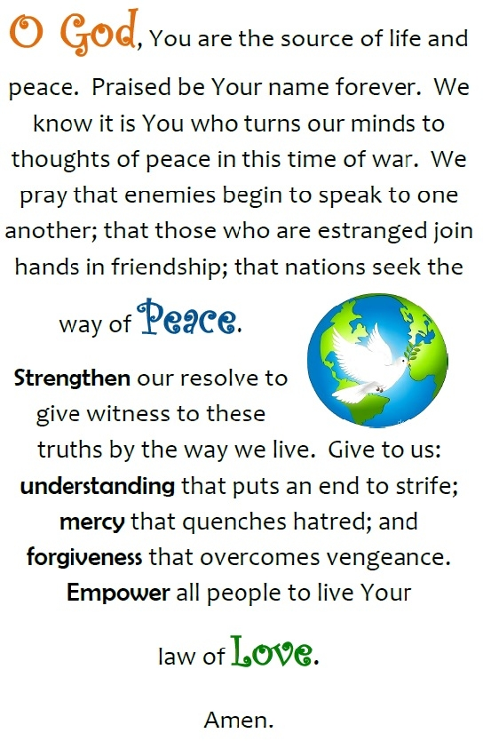 Peace Prayer