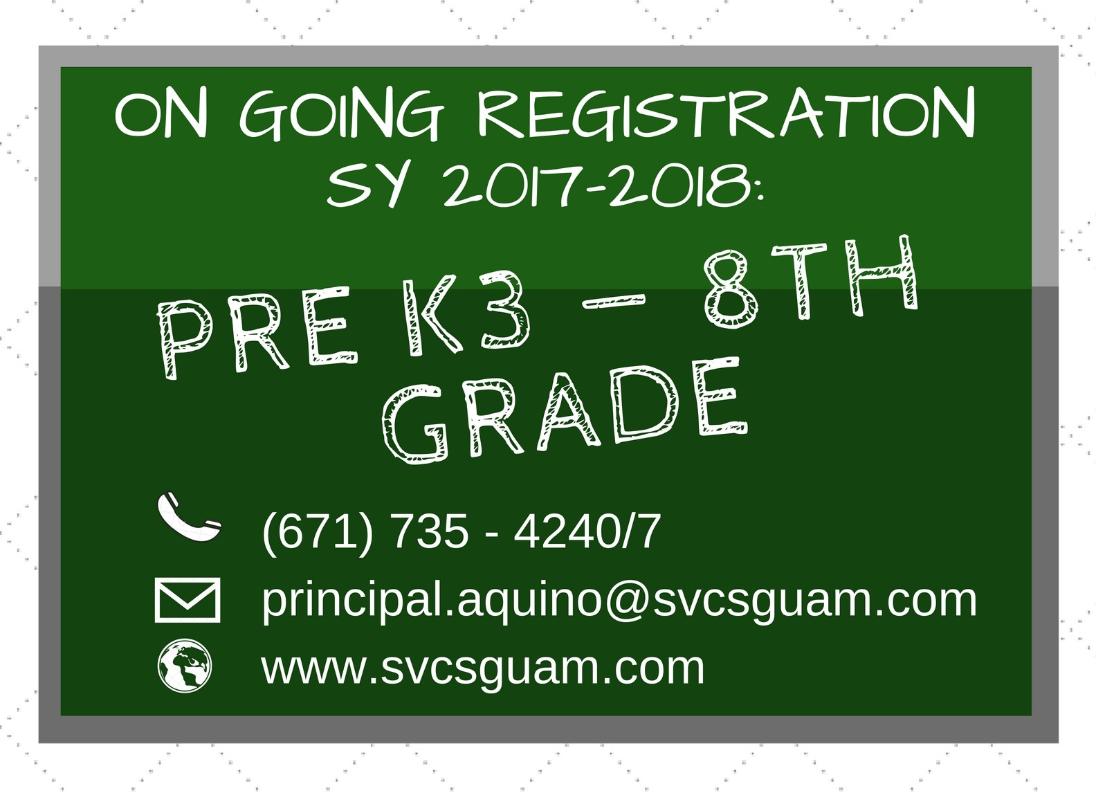 SY 17-18 REGISTRATION